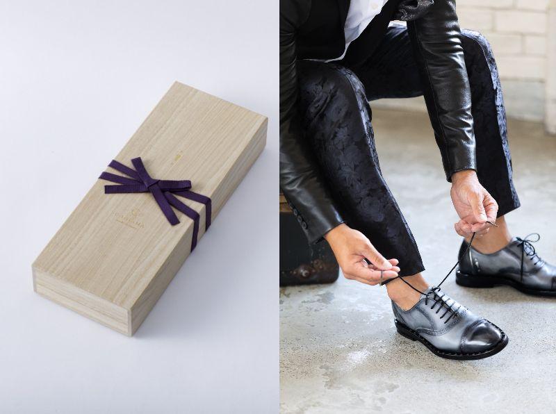 ギフトカタログパティーヌ靴写真付き