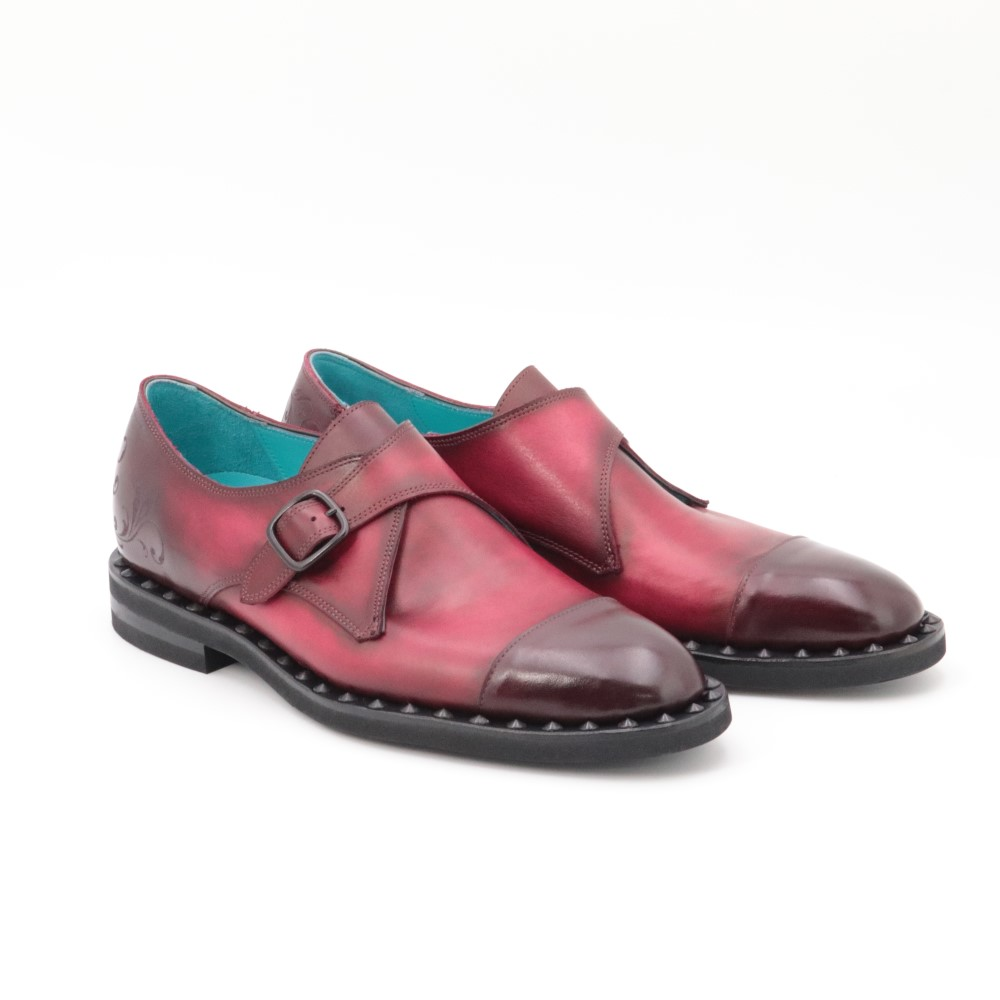 MONK STRAP SHOES 《モンクストラップ》 Extra Wine Red